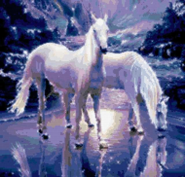 Снежные кони, животные
