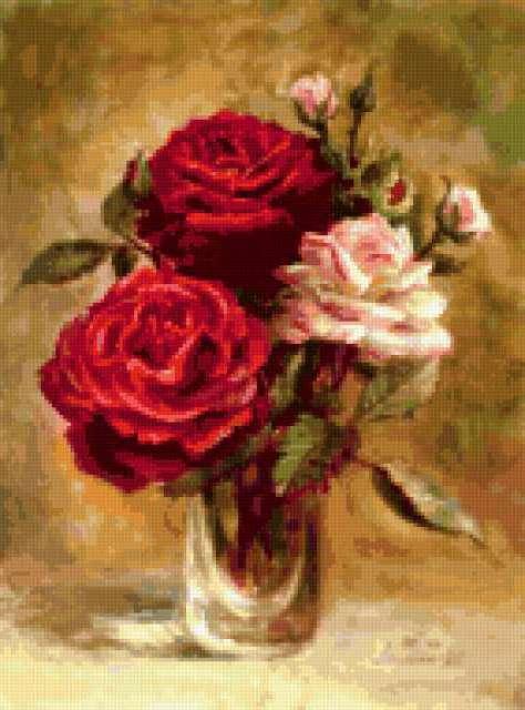 Лесохина Любовь. Три розы,