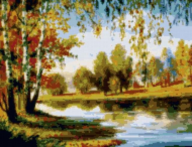 Осенний пейзаж, пейзаж