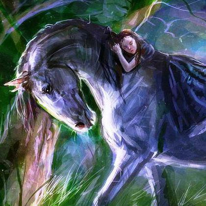 Сладкий сон верхом на коне,
