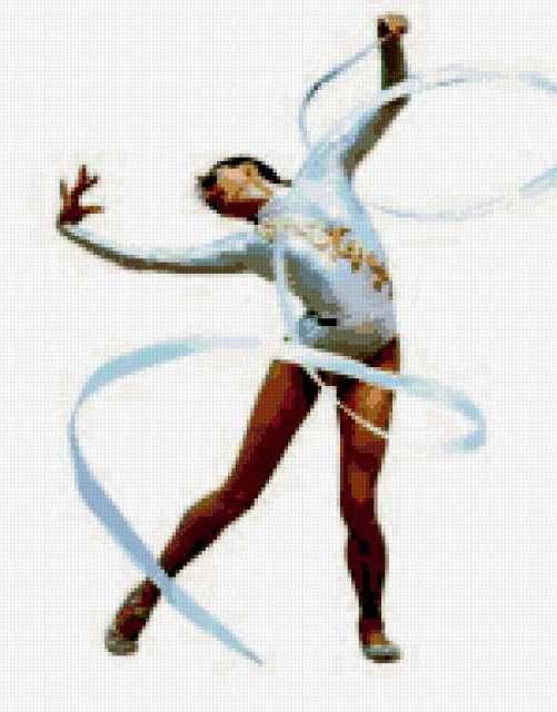 Художественная гимнастика вышивка 59