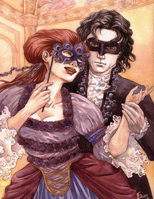 Любовь и бал маскарад,
