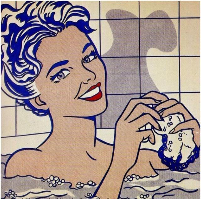 Девушка в ванне,