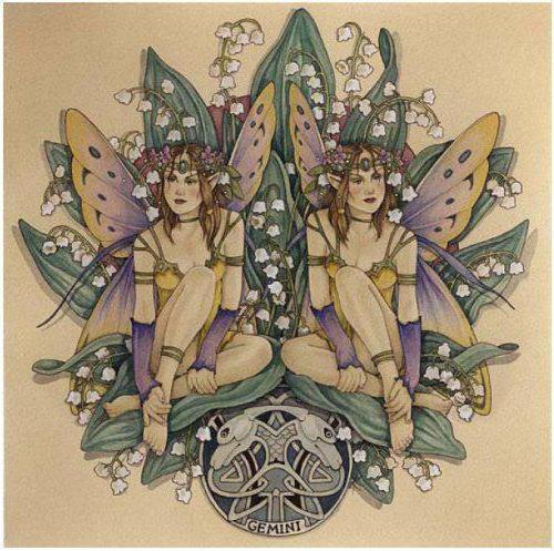 Гороскоп-эльфы,близнецы