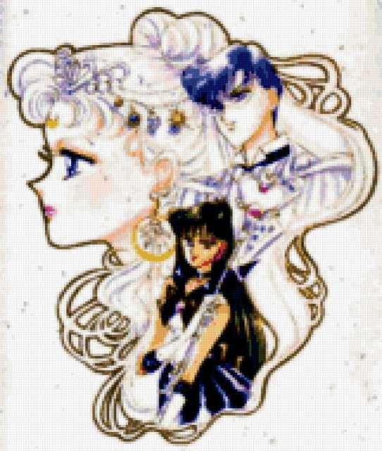Принцесса в стиле анимэ,