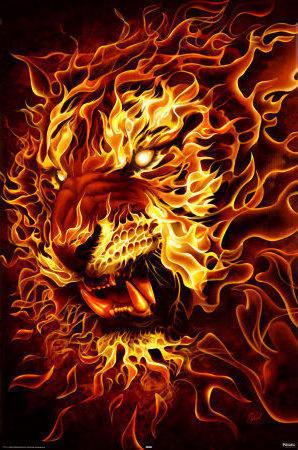 картинки фэнтези тигры