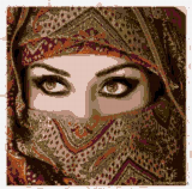 Арабская девушка,