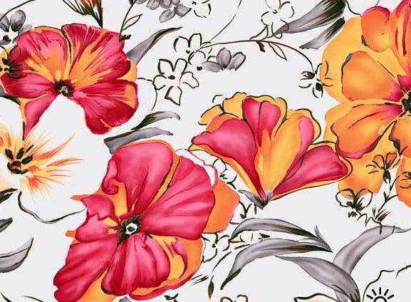 Цветочный орнамент, орнамент