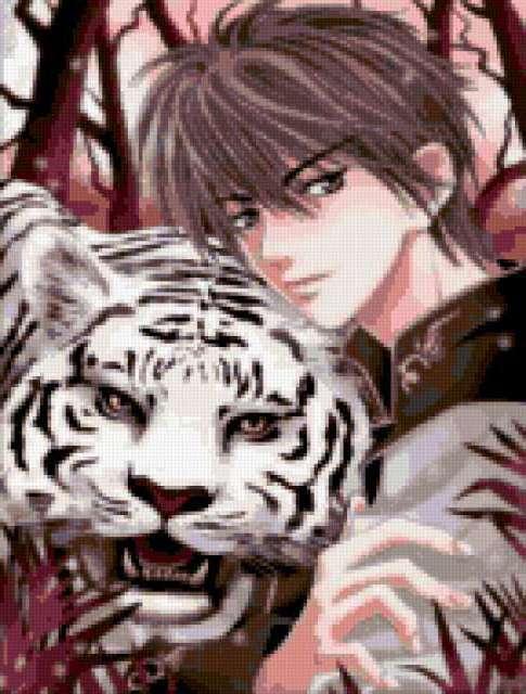 Принц белого тигра, фэнтези,