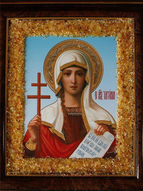 Св. Татьяна, икона