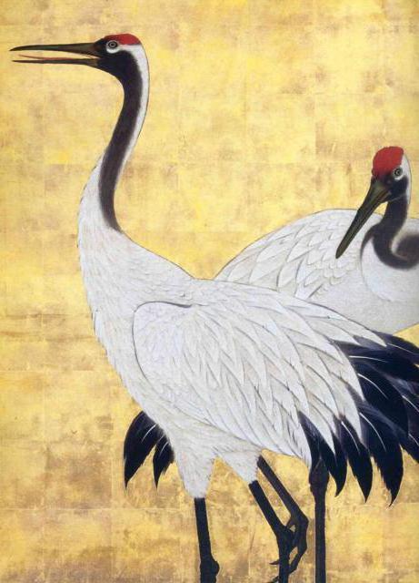 Японская живопись 17-19 веков