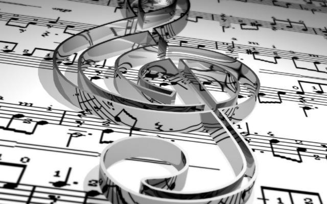 Скрипичный ключ, оригинал