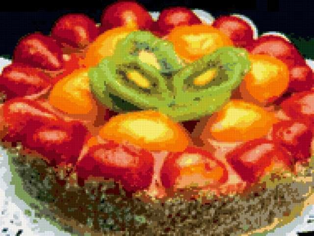 Фруктовый десерт, предпросмотр