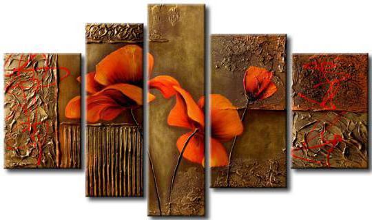 Квартет цветов, оригинал