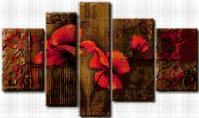 Квартет цветов, предпросмотр