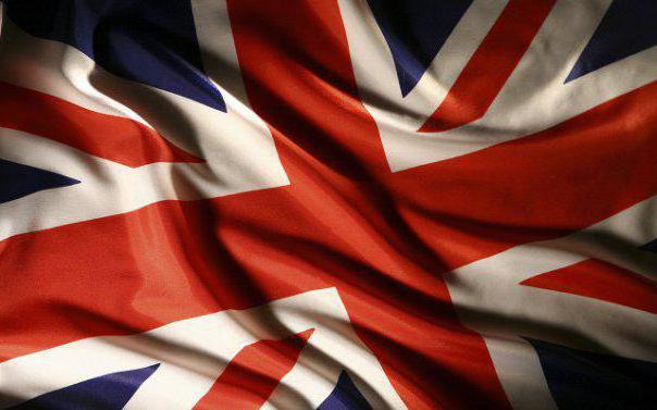 Британский флаг, оригинал