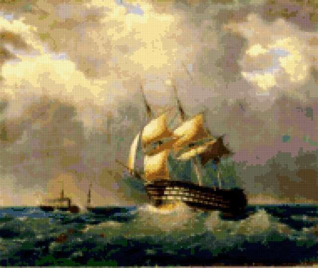 Айвазовский, картина, пейзаж