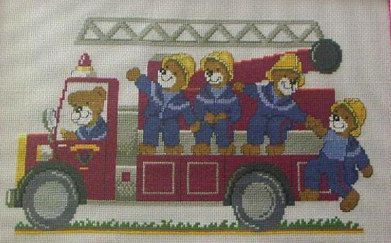 Пожарная машина, оригинал