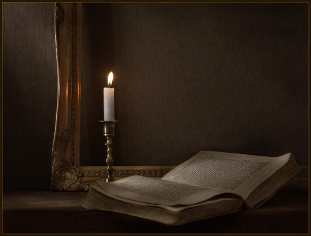 Свеча горела на столе...,