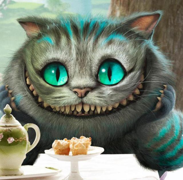 Чеширский кот, оригинал