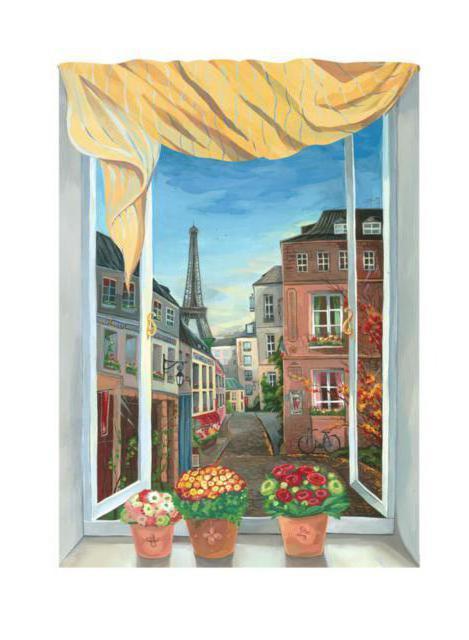 Вид из окна - Париж, оригинал