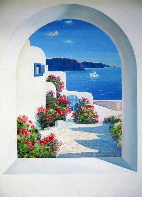 Вид из окна - Греция, оригинал