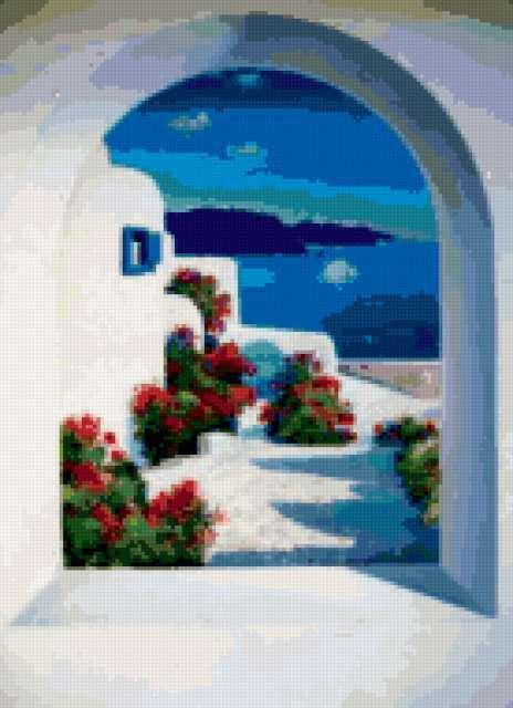 Вид из окна - Греция,