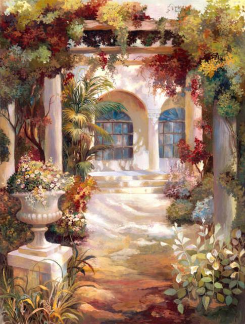 Римский дворик, оригинал