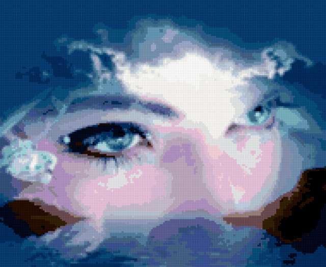 Голубые глаза, предпросмотр