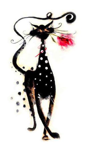 Мэрилин Робертсон кот Джаспер,