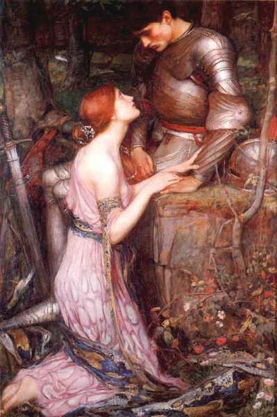 Девушка и рыцарь, оригинал