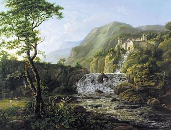 Замок в горах, оригинал