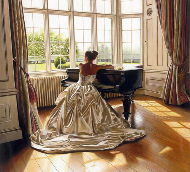 За роялем, оригинал