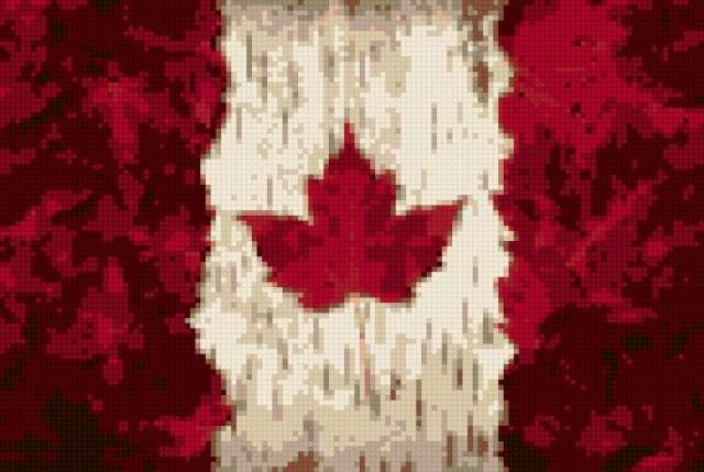 Флаг канады, предпросмотр