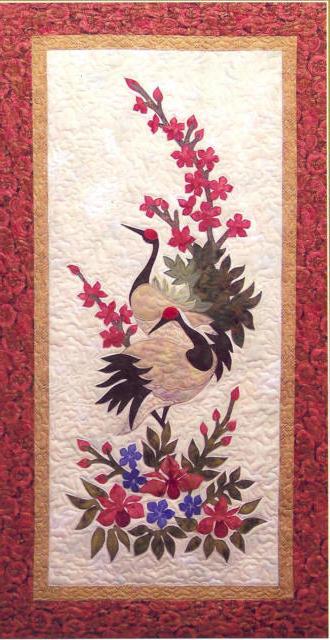 Японский журавль, оригинал