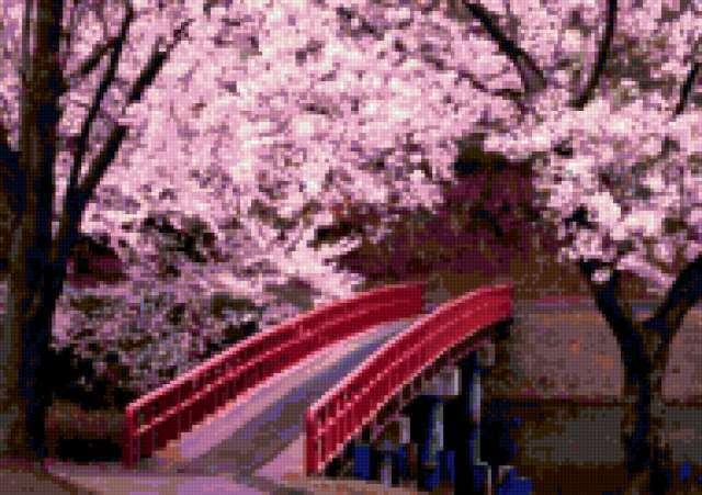 Японский сад, предпросмотр