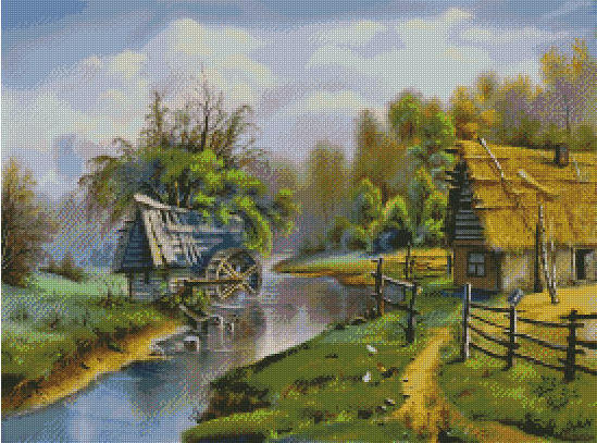 Лето в деревне, оригинал