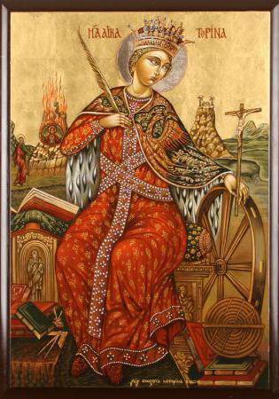 Иконы / Св. Катерина, икона