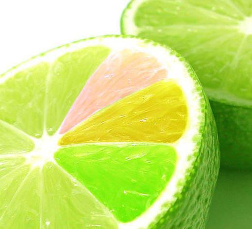 Яркие цитрусы :), лимон, лайм,