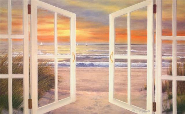 Море за окном, оригинал