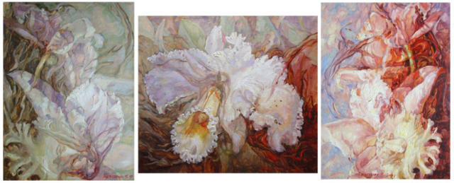 Триптих Орхидеи, оригинал