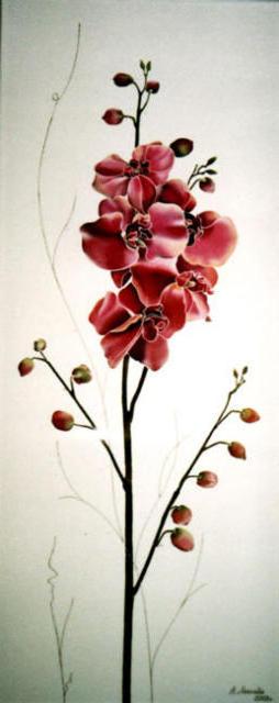 Орхидеи триптих 1, триптих,
