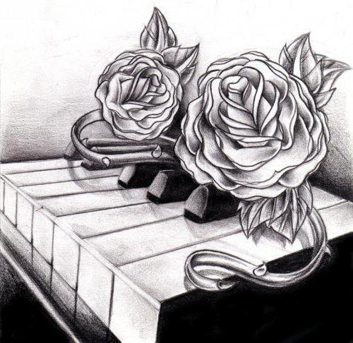 Пианино и розы, оригинал