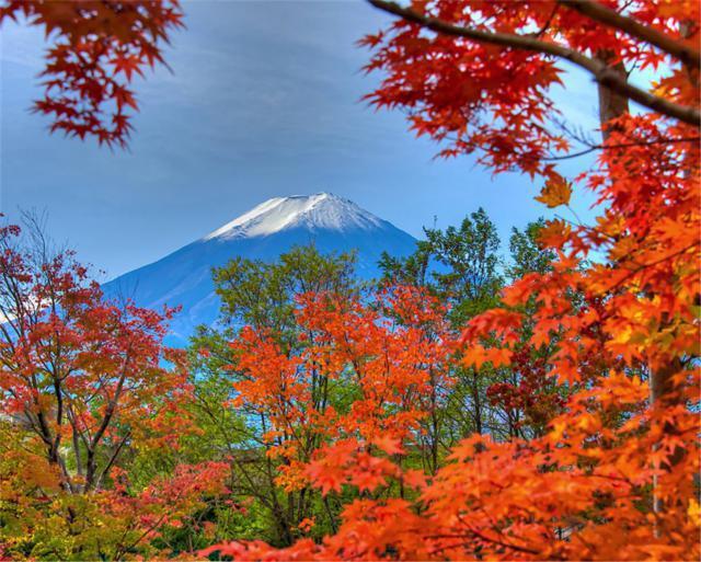 Гора Фудзияма, оригинал