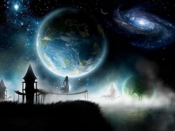 Космос, космос, фэнтези