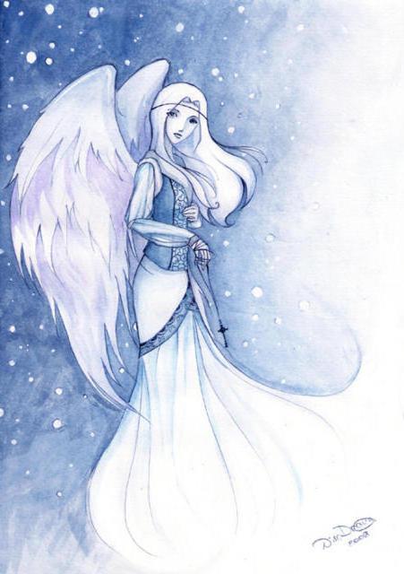 Девушка-ангел, оригинал