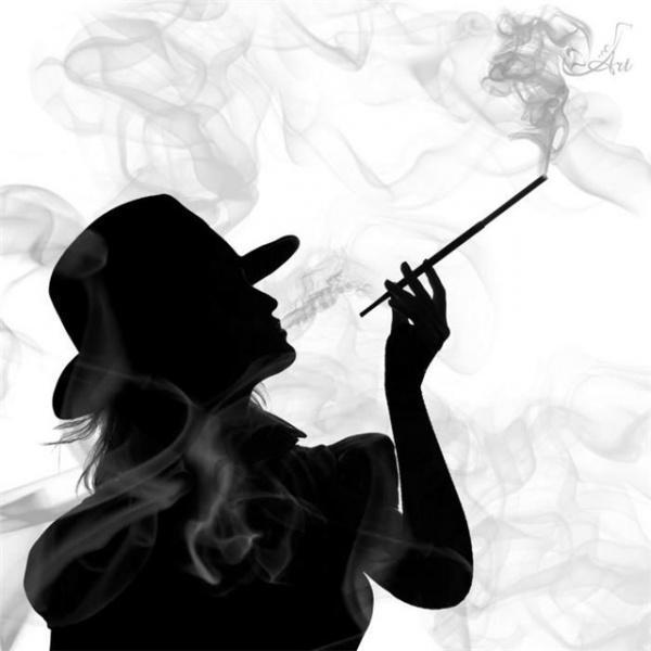 шляпа, черный белый