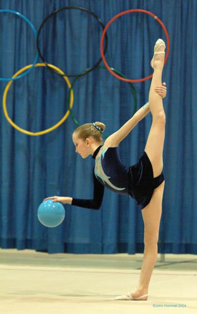 Гимнастка, спорт