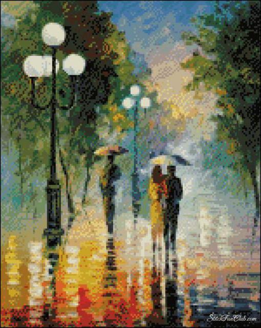 дождливый день картинки