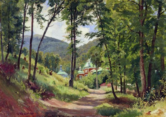 Иван Шишкин, картина, пейзаж,